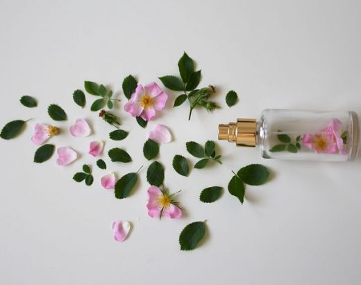 spray d'ambiance floral